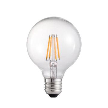 Bulbo do globo do diodo emissor de luz de 6.5W E27 G80 com aprovaçã0 de RoHS do CE