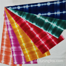 Four Way Spandex Tie Dye Stoff