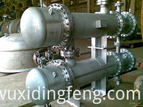 scraped surface counterflow heat exchanger