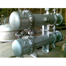 industrial machinery shell and tube heat exchanger
