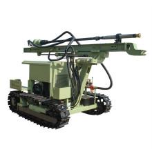 Plataforma de perforación de perforación de mina con herramientas