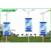 P6 Outdoor Advertising Street Light Pole Poster LED Display