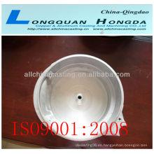 Pieza de aluminio de fundición de aluminio, pieza de auto forjada