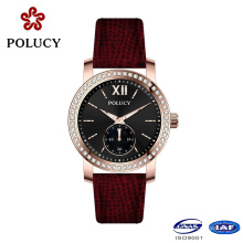 China Supplier OEM Women Watches with Slim Stone
