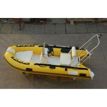 RIB360 bote inflable bote de remos tierna con barco de lujo de CE