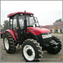 55kw 4*4 Wheel Drive Agriculture Tractor with Cabin
