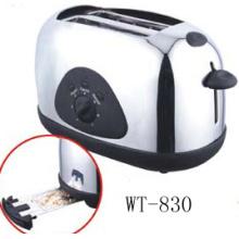 Grille-pain 2 tranches pain avec fixe torréfaction Logo en option (WT-830)