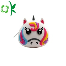 Custom Coin Holder Promotion Kids Silicone Coin Purse