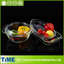Ensemble de vaisselle en verre à base de borosilicate