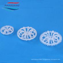 RPP PVC CPVC PP Plastic Tellerette ring Rosette ring for waste water treatment