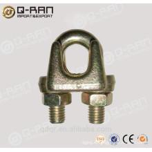Galvanizado maleable tipo A Cable clips de montaje