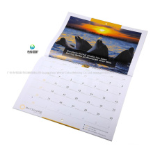 2020 Custom High Quality Printing Paper Wall Calendar for Promotion