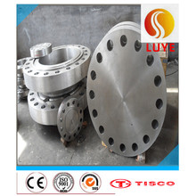 Prendedor de aço inoxidável do equipamento industrial & flange apropriada