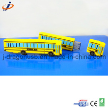 2D School Bus USB Flash Drive
