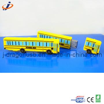 2D School Bus USB Flash Drive