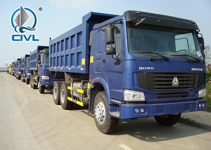 Blue 6x4 Heavy Duty Dump Truck 5