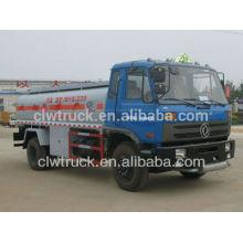 Camión cisterna de combustible de 15000 litros camión cisterna de combustible Dongfeng capacidad