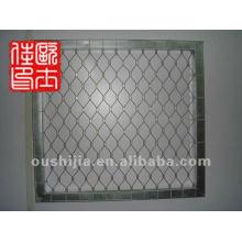 non-rust steel bird security screen stainless steel wire mesh