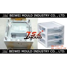 Moule en plastique de Cabinet de tiroir en Chine