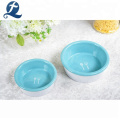 Individuell bedruckte Home Small Ceramic Raised Dog Cat Bowl Feeder