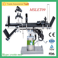 MSLET09M CE ISO approved Operating Table High tech Multi-purpose Operating Table (Side controlled) operating table price