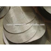 Filtro de discos de filtro de extrusora Filtro