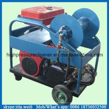 Equipamento de alta pressão da limpeza da tubulação do esgoto do líquido de limpeza do dreno do motor de gasolina