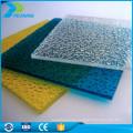 China fabricantes transparente de aislamiento térmico de policarbonato hojas de plástico toldo