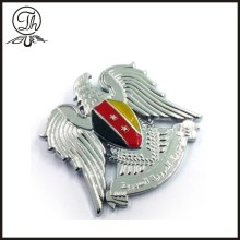 Flying eagle metal badge pin