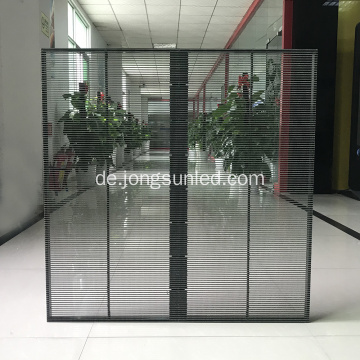 Glas Transparent Flexible LED Display TV