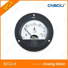62c2-a Amperímetro analógico montado DC