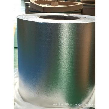 Textura de piel de naranja Stucco bobinas de aluminio para el aire acondicionado