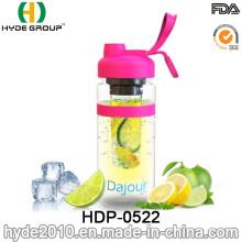 32oz Plastic BPA Free Plastic Fruit Infusion Bottle, Tritan Fruit Infuser Bottle (HDP-0522)