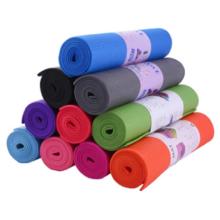 Tapis de yoga imprimé en PVC haute densité respectueux de l'environnement