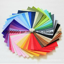 DIY Polyester Felt Nonwoven Fabric Sheet for Craft Work 42 Colors Super Soft Squares 5.9*5.9inch, About 1.5mm Thick,