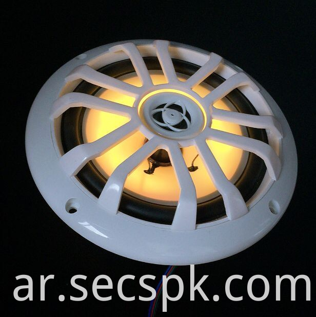 4 Ohm Led Multicolor Coaxial Speaker