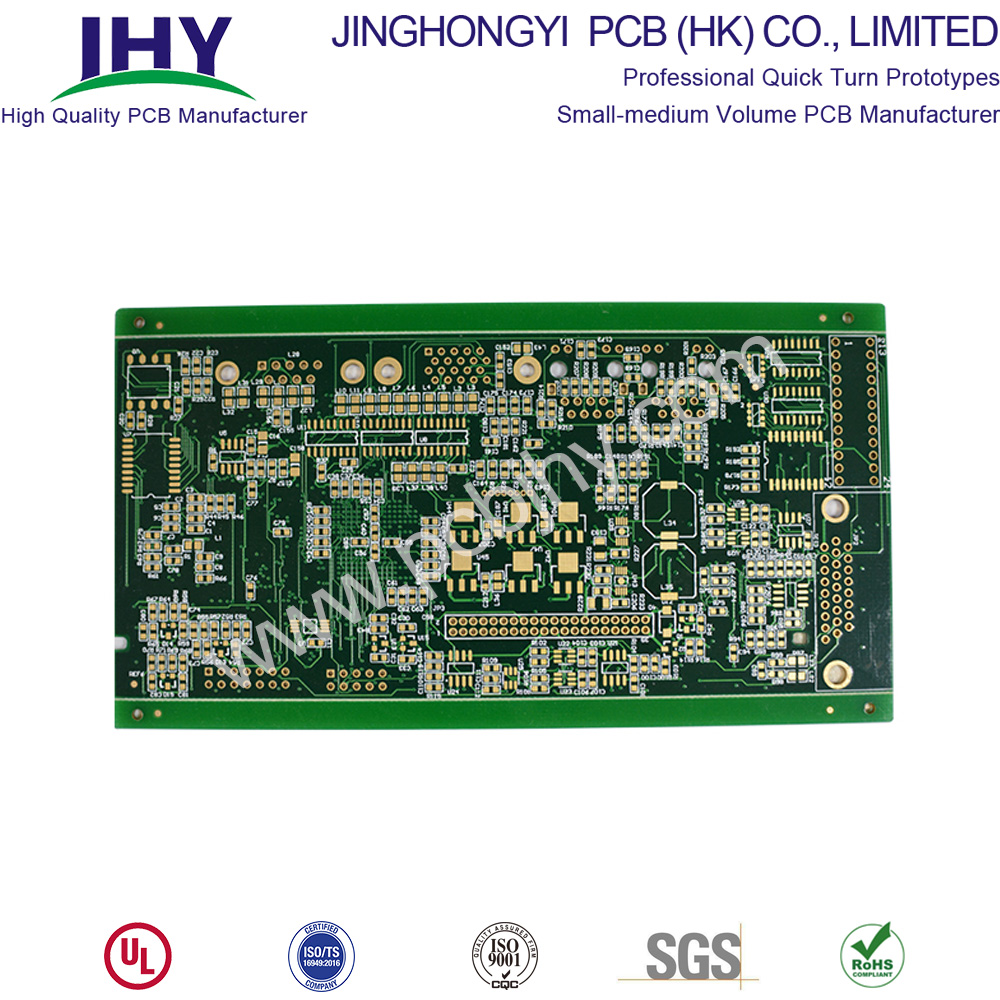 FR4 1.6mm Immersion Gold 6 Layer PCB