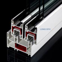 88mm Sliding UPVC Window Door Profiles