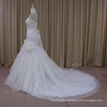 Профессиональная Фабрика Сексуальный Тюль Дизайн Свадебное Платье