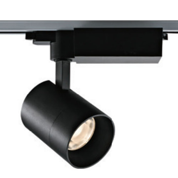 Traic Dimming Noir 38W LED Rail d'éclairage