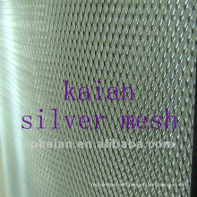 stamped and stretched silver plate battery net