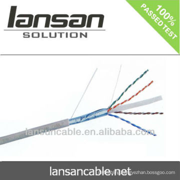 cat6a 23awg ftp copper lan cable 100% Fluke Test