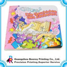 Libro de tablero de tarjeta de hadas de niños personalizado