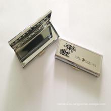 Caja grande del metal de la plata para la joyería (BOX-30)