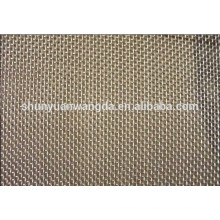 Pure Zirconium malha de arame, rede de zircônio