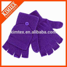 Оптовая акриловые трикотажные пользовательские волшебные перчатки для детей