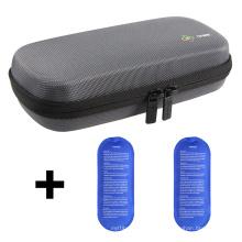 EVA Diabetic Insulin Pen Cooling Carrying Case, Waterproof diabetic insulin hard case