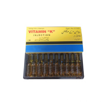 Injection de vitamine K GMP 10 mg / ml