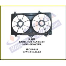 Покрытие вентилятора радиатора охлаждения для Camry'2002 Acv30 (111701-ACV30-F)