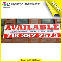 Produtos grossistas cusotm bandeira simples de vinil flexível e vinil de formato vinil